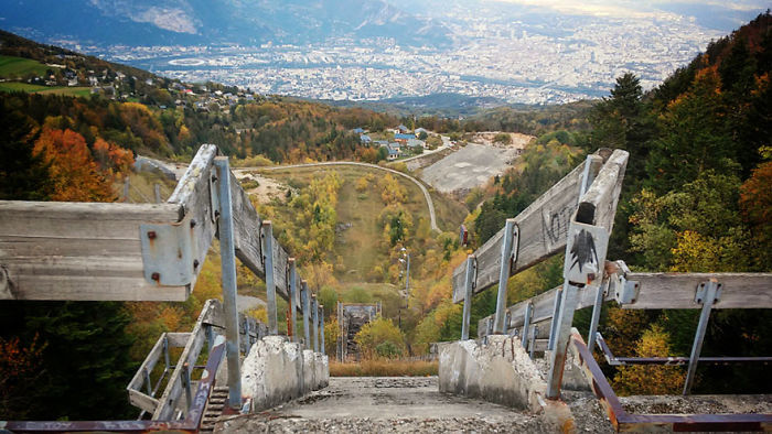 Ski Jumping Tower, Grenoble, France, 1968 Winter Olympic Games
