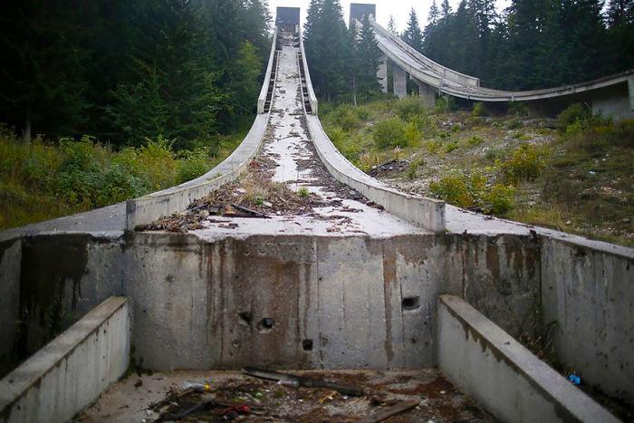 Ski Jump, Sarajevo, 1984 Winter Olympics Venue
