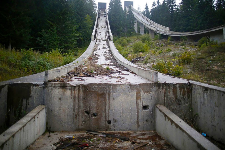 Abandoned olympic venues from around the world or why it s for Repurpose inground swimming pool