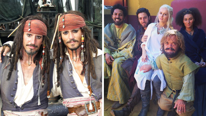 96 Actors With Their Body Doubles Show Your Whole Life Was A Lie