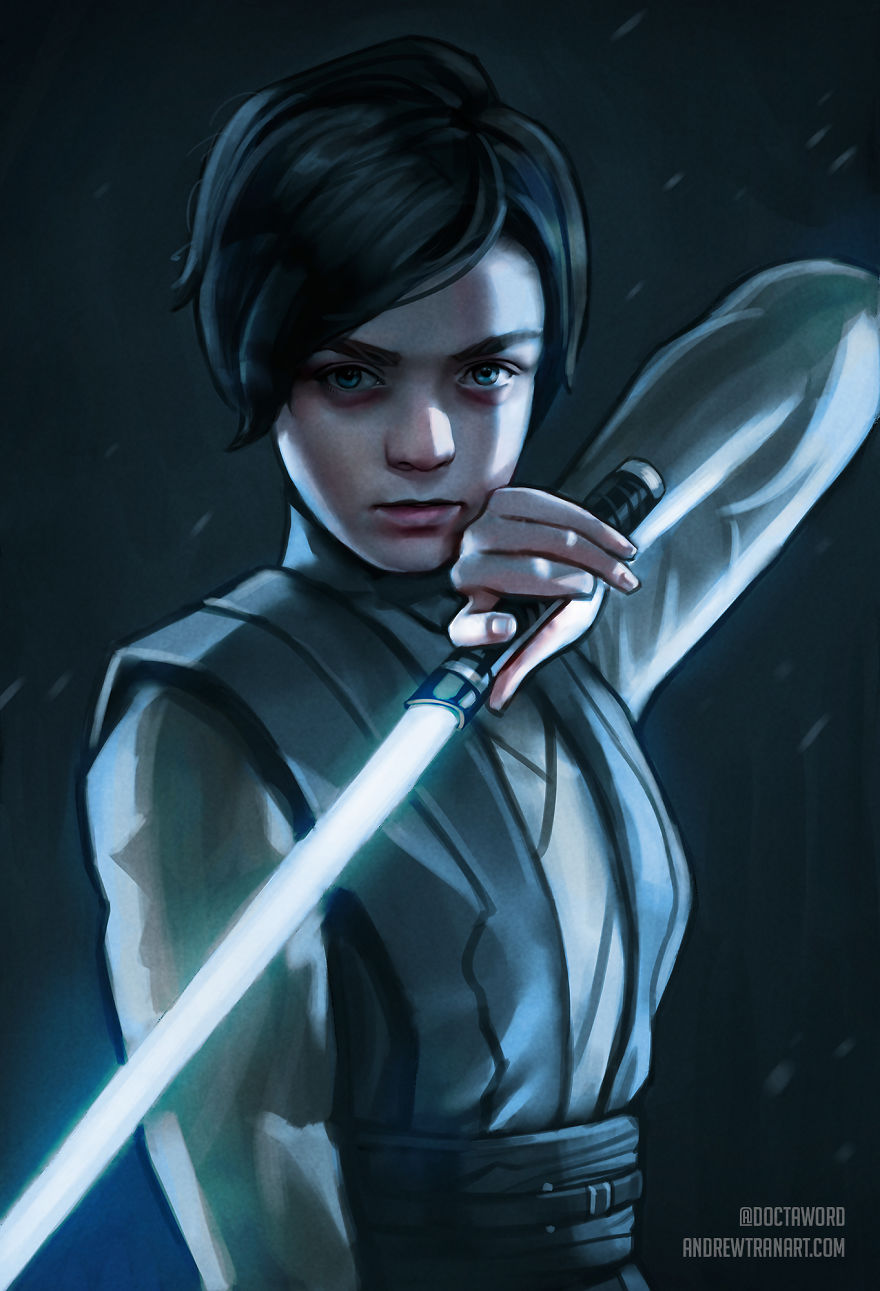 I Drew 'Game Of Thrones' Characters In The Star Wars Universe