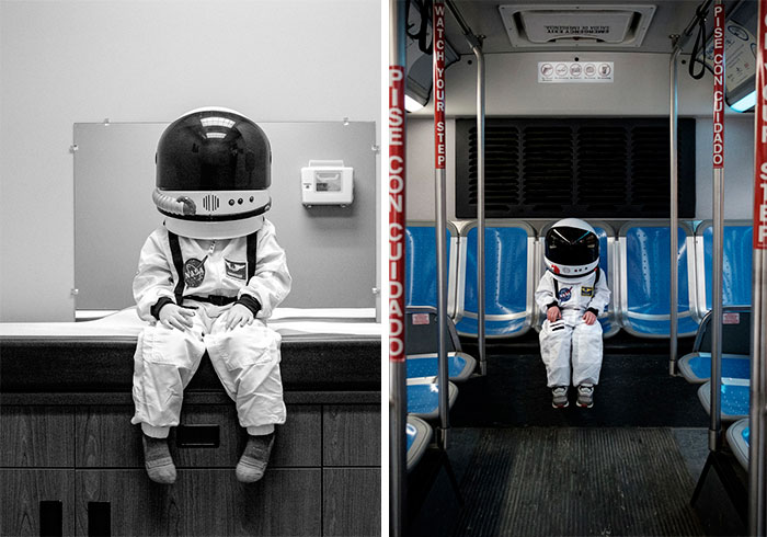 Stellar Dad Documents His Little Astronaut's Adventures To Tell A Beautiful Message About Parenting