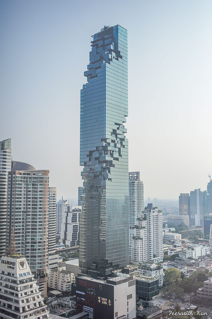 Thailand s new tallest skyscraper just opened but it for New construction design