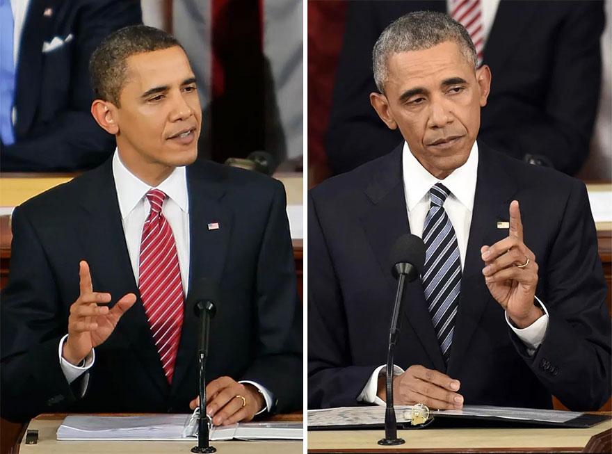 Барак Обама 2008/2016