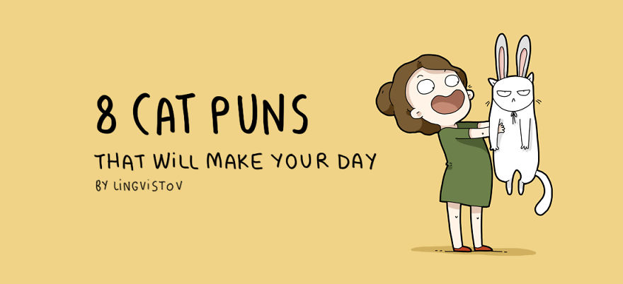 Cat Puns That Will Make Your Day Bored Panda - 8 cat puns that will put a smile on your face