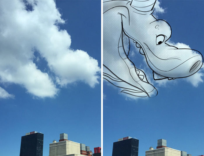 I Use Clouds To Perform Shape Studies As Daily Warmups For My Illustrations & Character Designs