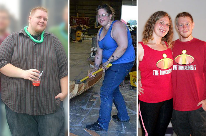 "This Giant Couple Lost 330 Pounds And Got Nicknamed As ""thincredibles"""