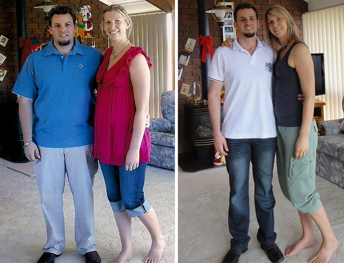Crystal And Andrew Before And After Paleo Diet
