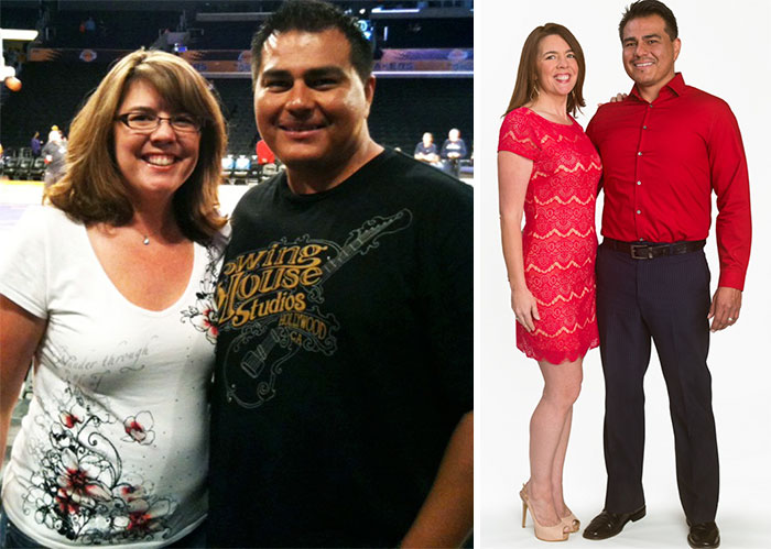 Oscar And Lori Lost A Combined 80 Pounds