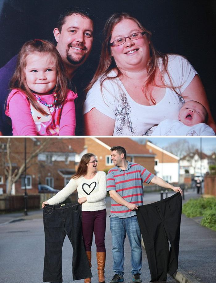 Они оба потеряли удивительное количество веса вместе их большой день и не может быть Счастливее
