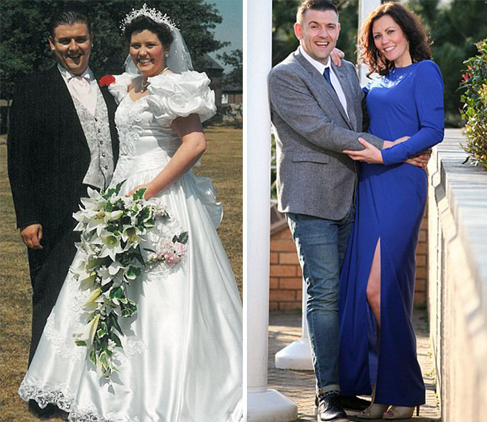 Couple Loose 10 Stone, Look Younger Than On Their Wedding Day In 1994