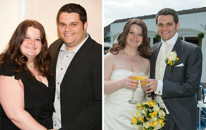 Alison Lost More Than Eight Stone To Fit Into Her Dream Wedding Dress. Simon Lost An Impressive Six Stone And Went From An Xxl To Medium To Fit Into His Wedding Day Tux