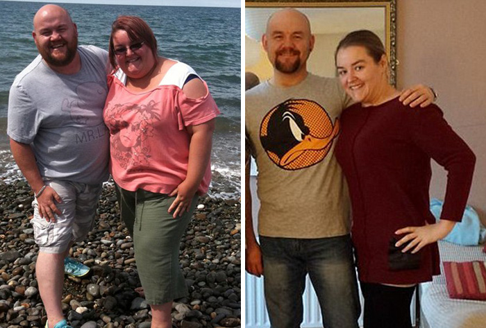 Obese Couple Jo And Barry Shed Half Their Body Weight After Being Told That If They Didn't Diet, They Would Die