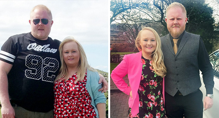 Couple Shed A Combined 11 Stone After Size 22 Bride Hears Cruel Comments