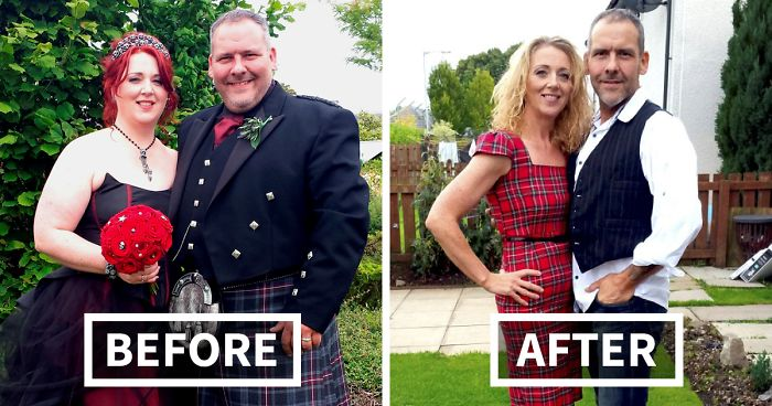 15 Before And After Photos Of Couples Losing Weight Together