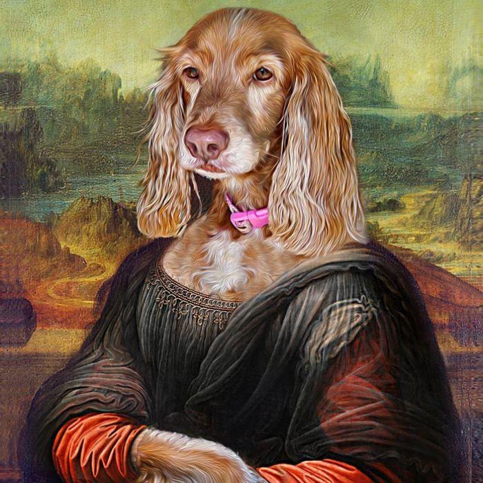 I Create Renaissance Pet Portraits