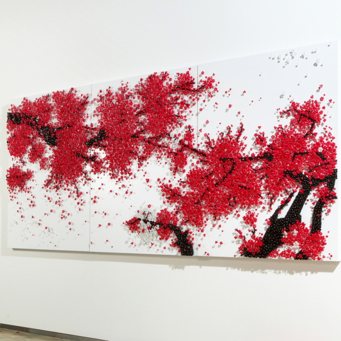 The Beauty Of Invisibility: I Use 1000s Of Pins To Create Art