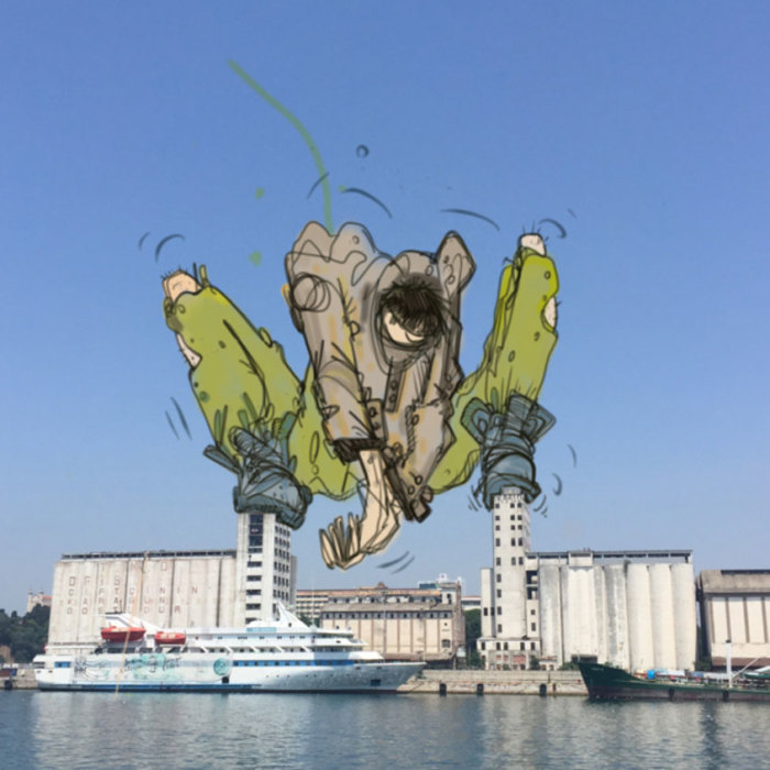 I Imagined What Would Happen If Monsters Invaded Istanbul