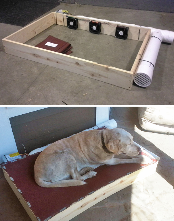 Redneck Air Conditioned Dog Bed