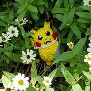 Someone Is Crocheting REAL Pokémon Toys And Leaving Them At PokeStops For Others To Find