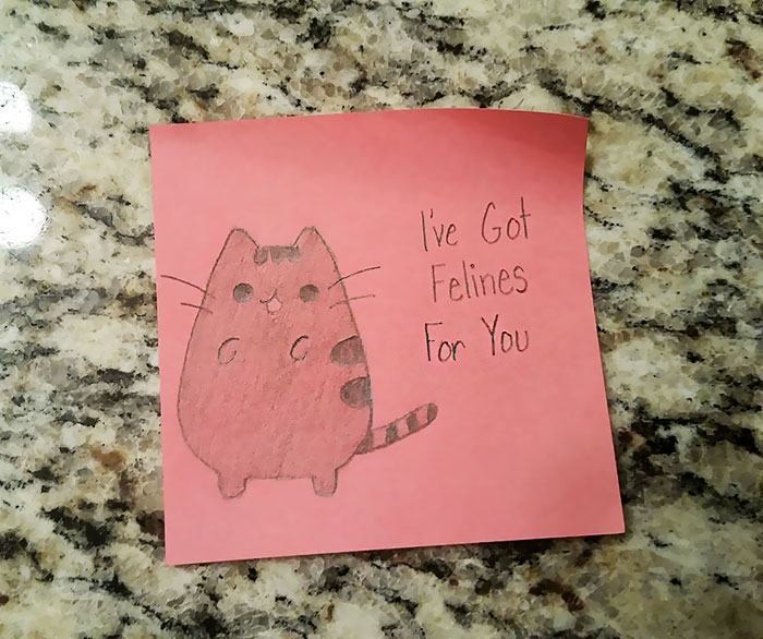 Girlfriends love notes go viral after boyfriends cousin posts them cute love notes thecheapjerseys Image collections