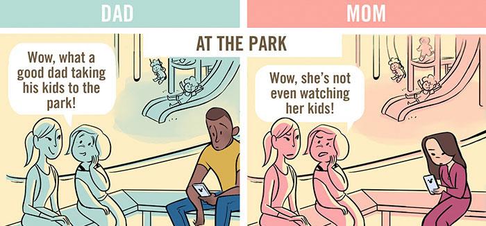 tegneserie sex moms