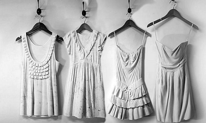 Dresses Carved Out Of Marble