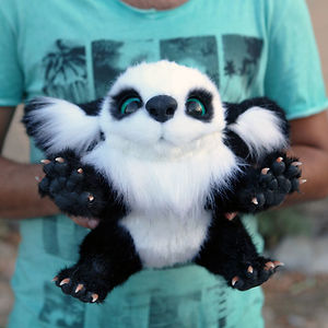 This Adorable Fantasy Panda Creature Just Arrived To Our Office