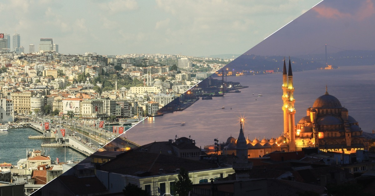 Istanbul Day And Night Project
