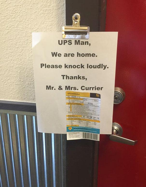 UPS Guy Gives No F**ks