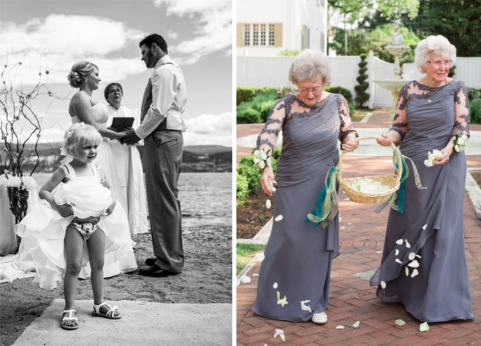 24 Flowers Girls And Ring Bearers Who Stole The Spotlight From The Bride & Groom