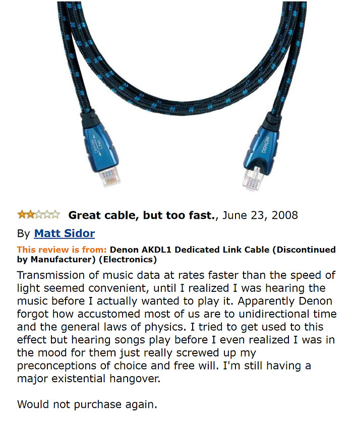 Denon Akdl1 Dedicated Link Cable