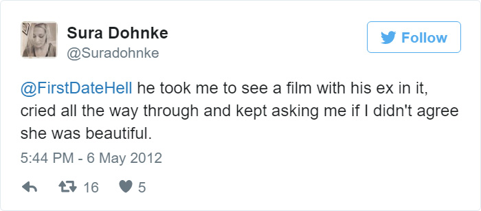Funny First Date Tweets
