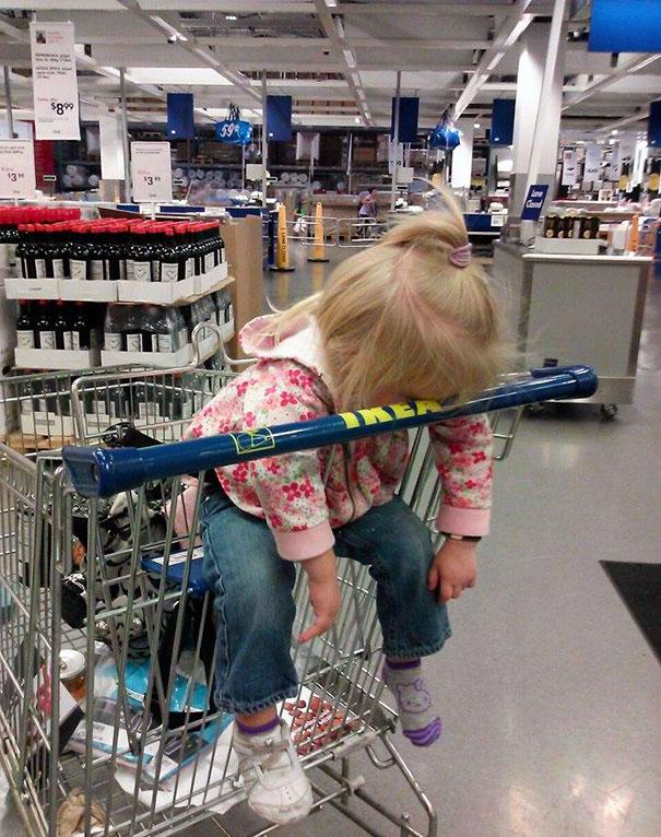 Napping At Ikea