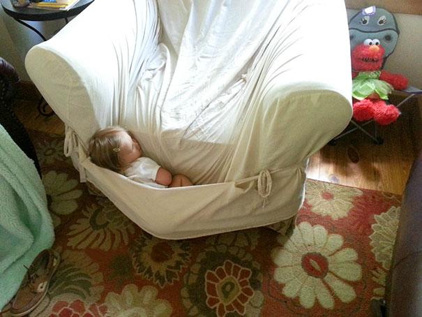 Napping Like A Kangaroo's Baby
