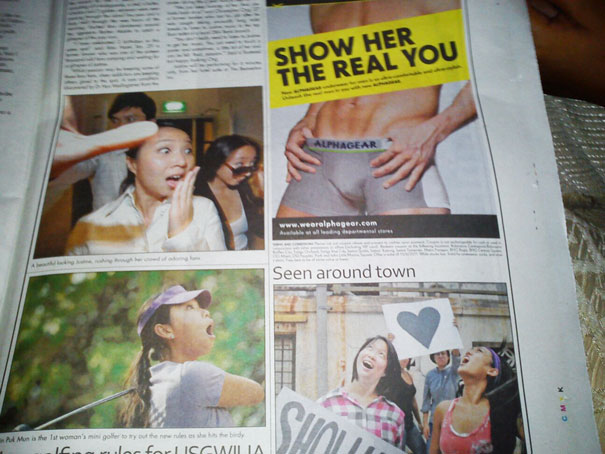 Worst Newspaper And Magazine Layout Fails Ever Bored Panda - 24 worst advertising placement fails