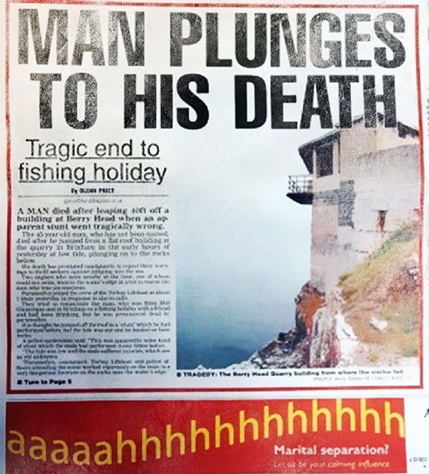 Poorly Placed Ad