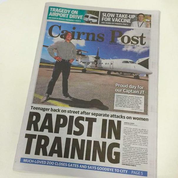 Rapist In Pilot's Training
