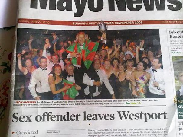 Newspaper Fail