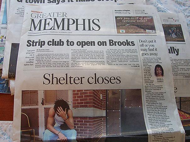 Unfortunate Placement Of Headlines