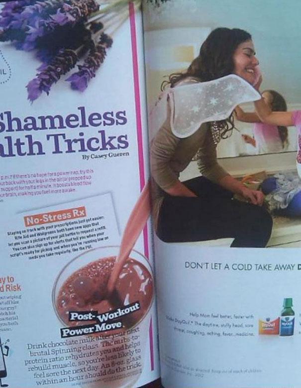 Shameless Health Trick