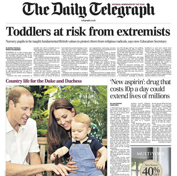 Never Would Have Labelled William And Kate As Extremists Myself
