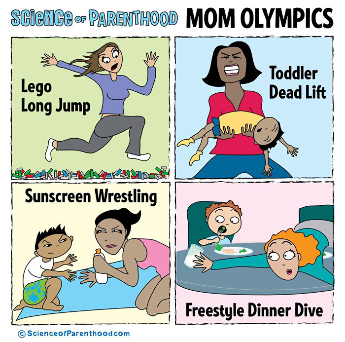 Funny Parenting Cartoons