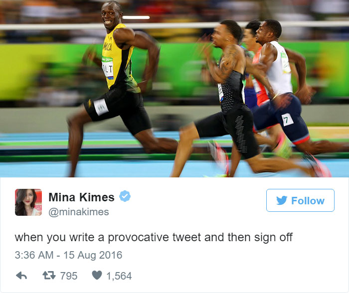 The Funniest Tweets About Usain Bolt's Mid Race Smile
