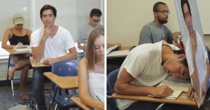 Image result for sleeping in class funny