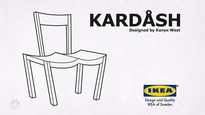 ikea trolls kanye west and now everyone is trolling him with fake