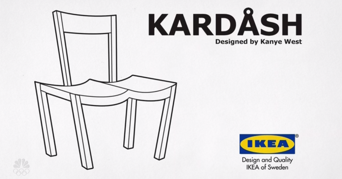Exceptionnel IKEA Trolls Kanye West, And Now Everyone Is Trolling Him With Fake Product  Designs | Bored Panda