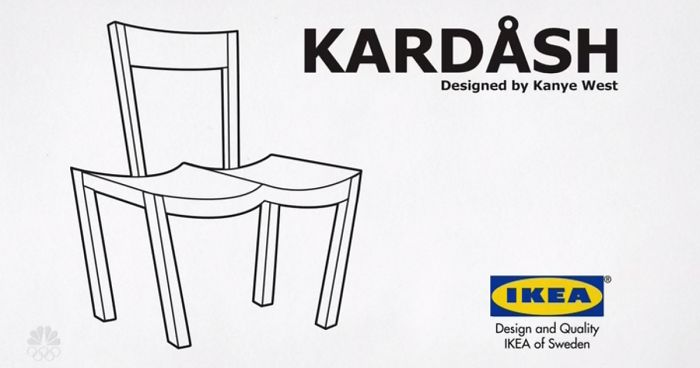 ikea trolls kanye west and now everyone is trolling him