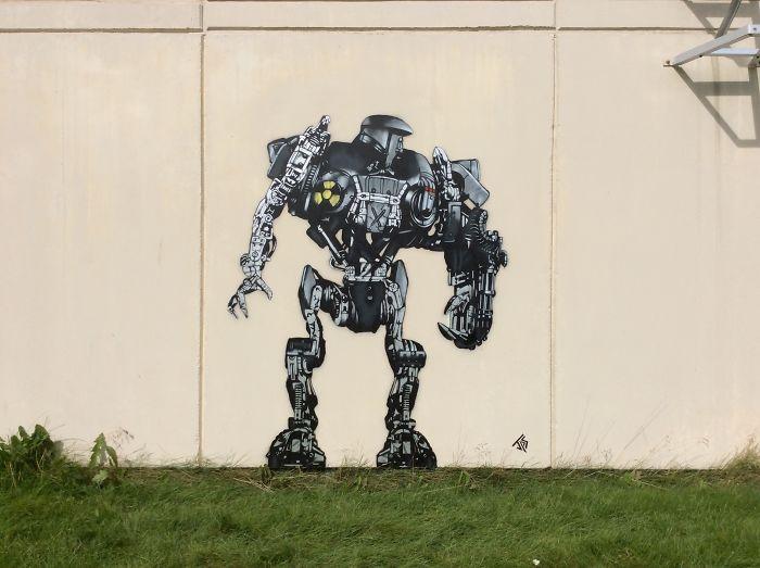 Closer Shot Of Robocop
