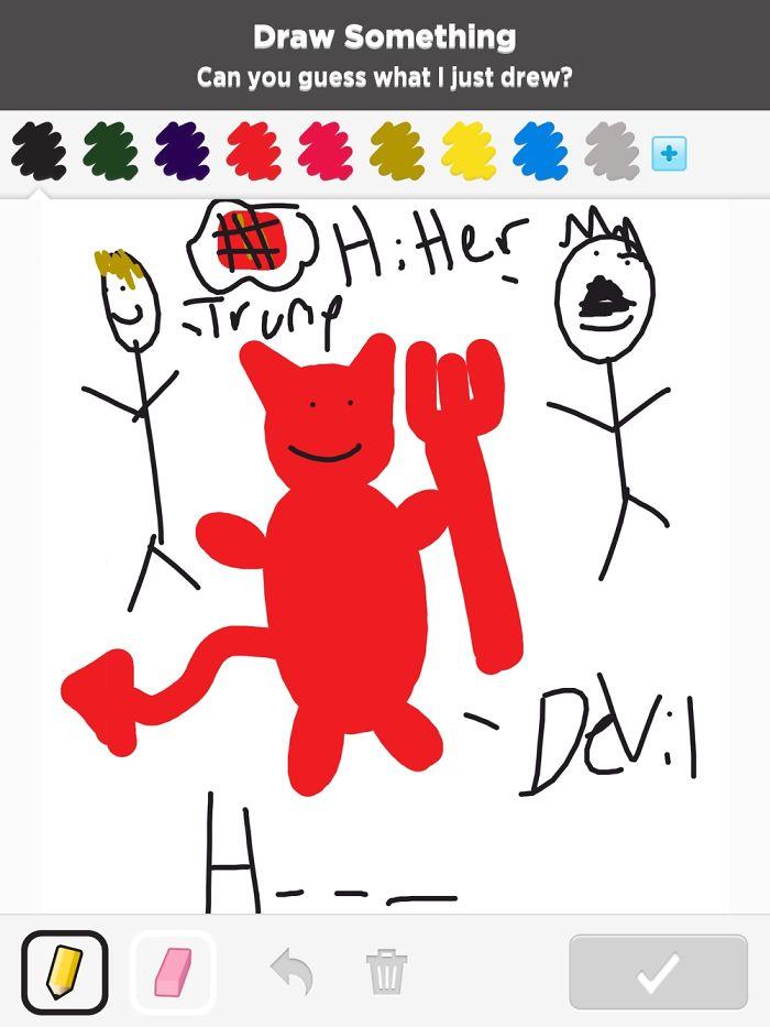 Hilarious Kid's Drawings